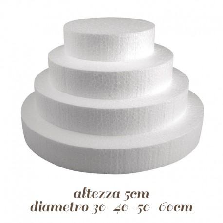 Base Tonda polistirolo 25 cm e varie misure