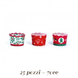 Pirottini Mini Cupcake Natalizi