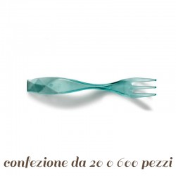 Forchettine plastica Charm per Finger Food