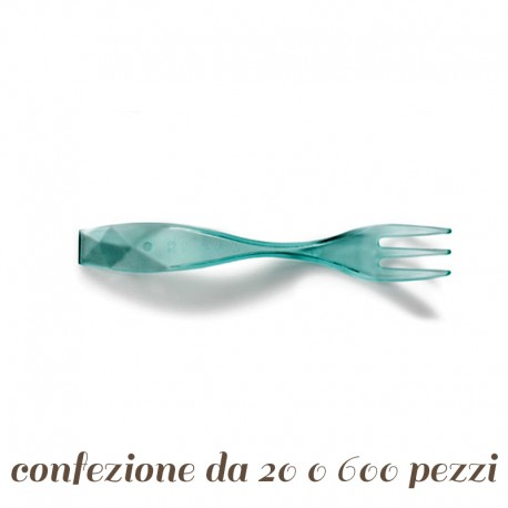 Forchettina plastica Charm per Finger Food