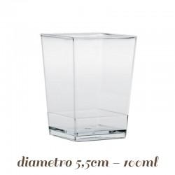Bicchierini Monouso Cubo per Finger Food