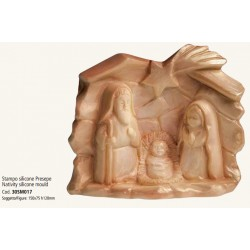 Stampo Presepe in Silicone