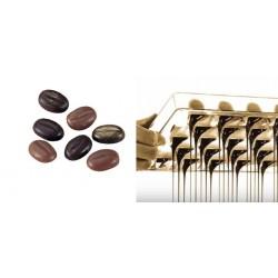 Stampo per Cioccolatini Chicco di Caffe' in policarbonato