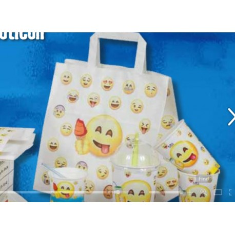 Shoppers in carta Emoticon
