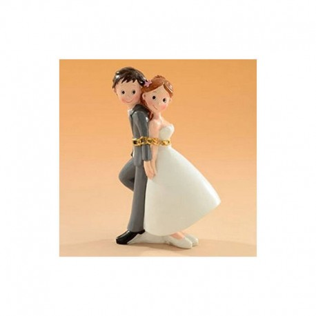 Cake topper Sposi Incatenati