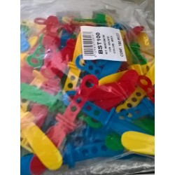 100 Stecchi per Ghiaccioli Baby coloratissimi