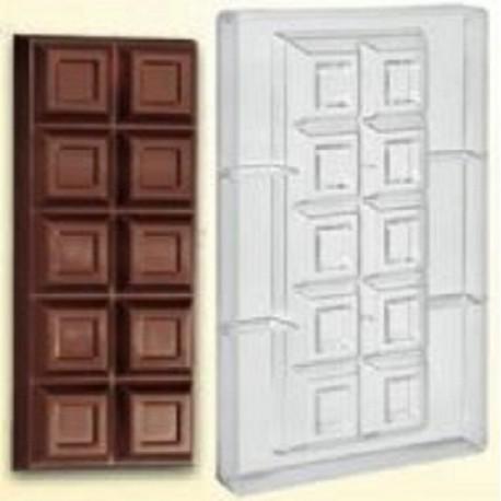 Stampo Tavoletta di cioccolata in policarbonato