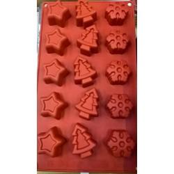 Stampi silicone Natalizio