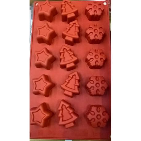 Stampi silicone bordo di rose