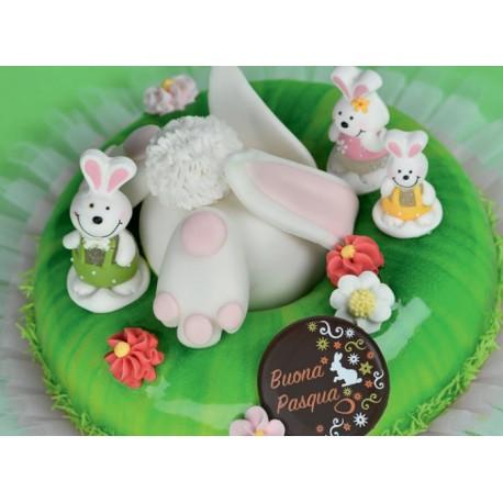 Coniglietti in zucchero 3d Senza Glutine