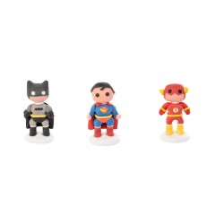 Super Eroi in zucchero 3d Batman Flash e Superman