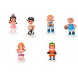 Personaggi Sportivi in zucchero 3d