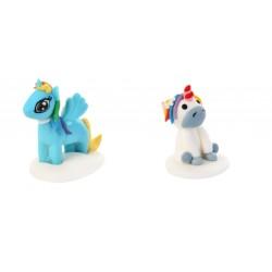 Pony e Unicorno in zucchero 3d pronti