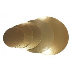 Dischi sottotorta in Cartone Oro per torte 5/ 10 kg