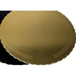 Dischi in Cartone Oro per torte