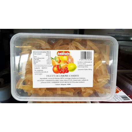 Filetti di Limone Candito