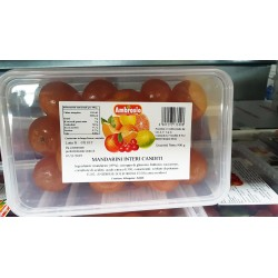 Mandarini Interi Canditi - 900 gr