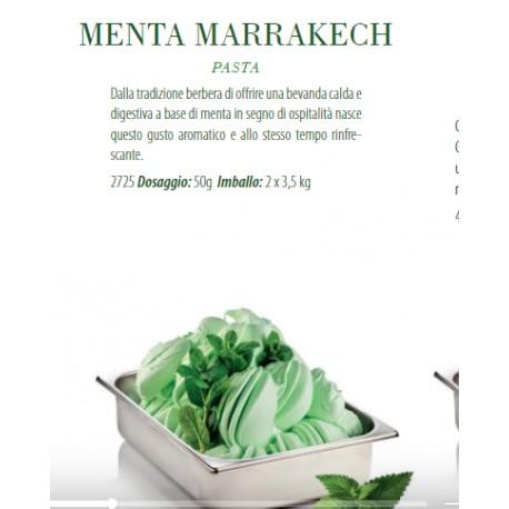 Pasta per Gelato Menta Marrakech 3.5 kg