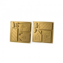 Stampo per Casetta di Natale 3 D