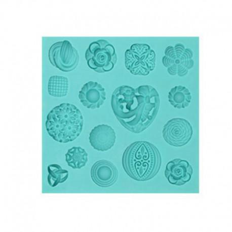 Stampi silicone Bottoni