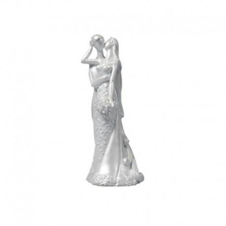 Statuina cake topper Sposi eleganti