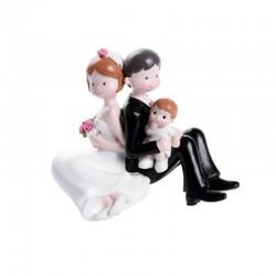 Topper con Bimbo per Matrimonio