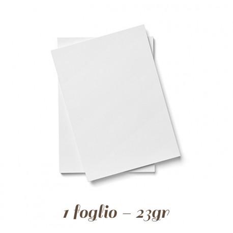 Foglio di Pasta di Zucchero Bianco A4 Modecor