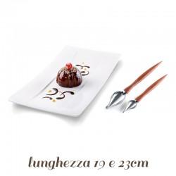Kit 2 Cucchiai per scrittura con Glasse e Cioccolato
