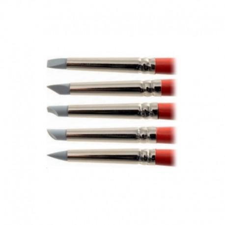 Kit pennelli per modellare 5 pz