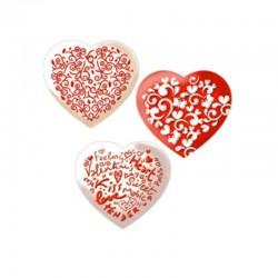 Vestibiscotti Sagoma cuore ( Cialde per Biscotti)