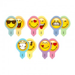 600 Cialdine Smile Decoshape per muffin