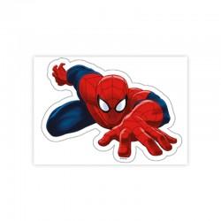 Sagoma per torte in cialda Spiderman