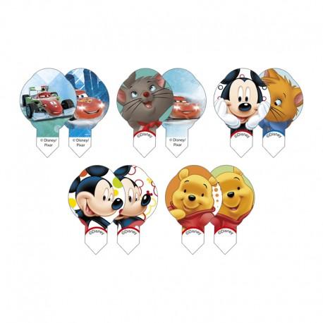 Cialde per Dolcetti Decoshape Disney maschile 600 pz