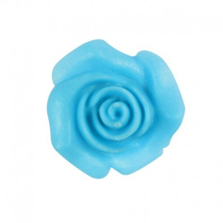 Set rose in Pasta di zucchero Azzurre