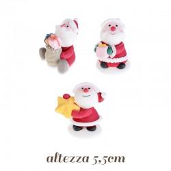 Babbo Natale in Zucchero con occhiali