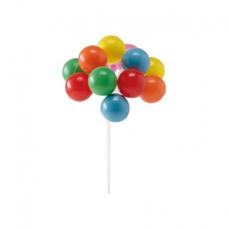 Palloncini plastica per torte 2.50 i.r