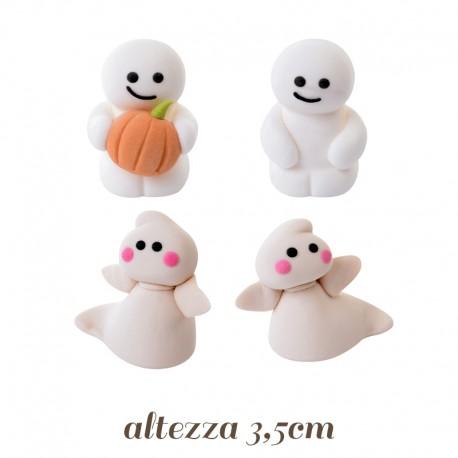 Fantasmi di zucchero per decorazioni Halloween pronti all uso aa238cd4ea27