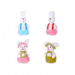 Coniglietti con bretelle di Zucchero
