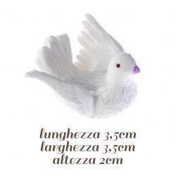 Colombine in volo di Zucchero h 2 cm