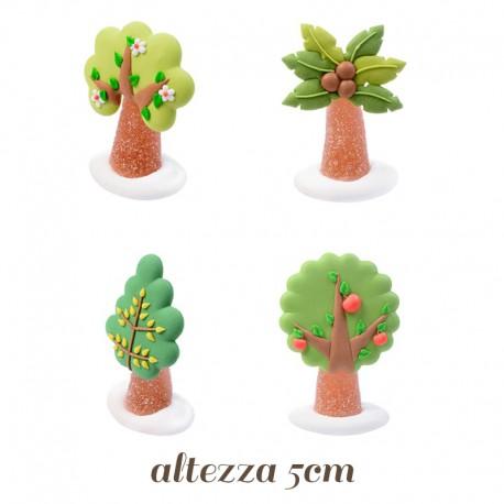 Alberelli di Gelatina e Zucchero per decorazioni