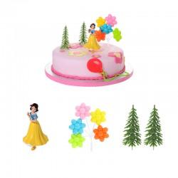 Kit per torte Biancaneve 4 pezzi