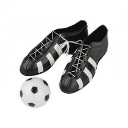 Scarpe da calcio per torte plastica con Pallone