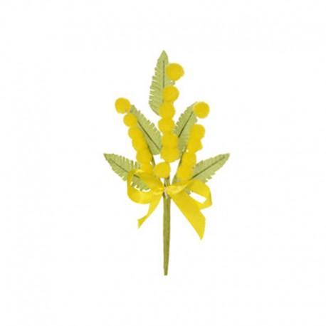 Rametto Mimosa in Stoffa per torte