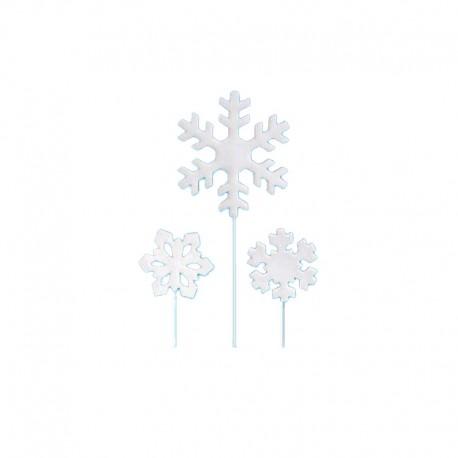 Cristalli di ghiaccio su stecco Frozen