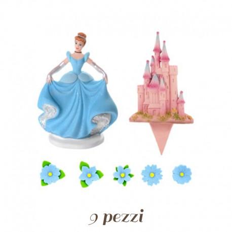 Kit Cenerentola + castello di Zucchero 9 pz