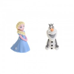 Elsa e Olaf in Zucchero gia' pronti