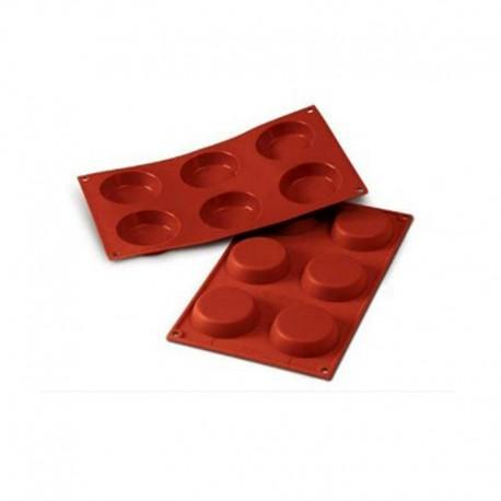 Stampo in silicone 6 tartina