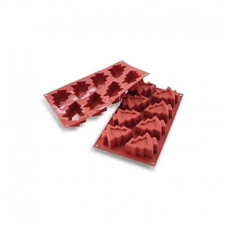 Stampo in silicone Tortine a forma di Alberello