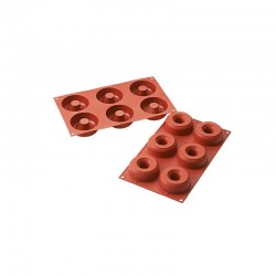 Stampo Silicone Donuts Silikomart