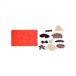 Stampo per Cioccolatini di Natale silicone